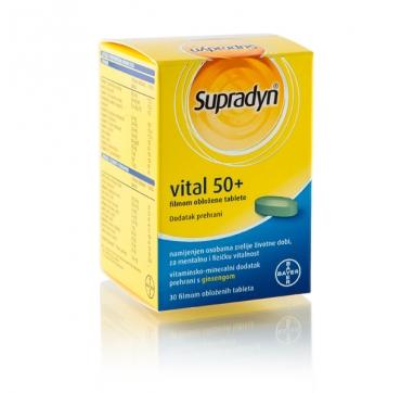 SUPRADYN VITAL 50+ TBL 30 KOMADA