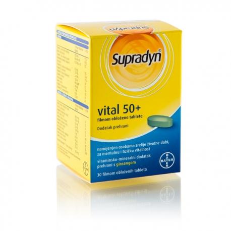 SUPRADYN VITAL 50+ TBL A 30 KOM