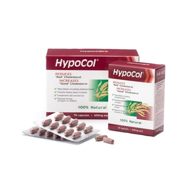 HYPOCOL CAPS 30X600 MG