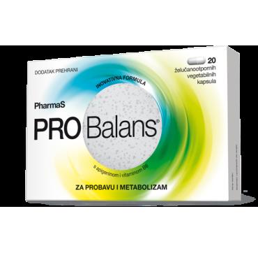 PROBALANS CAPS A 20 pharmaS