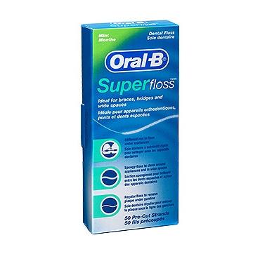 ORAL B SVILA SUPER FLOSS