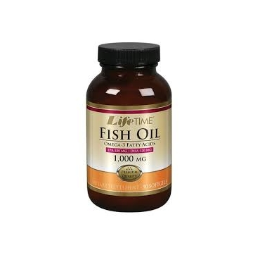 LIFE TIME OMEGA 3 FISH OIL A 1000 MG