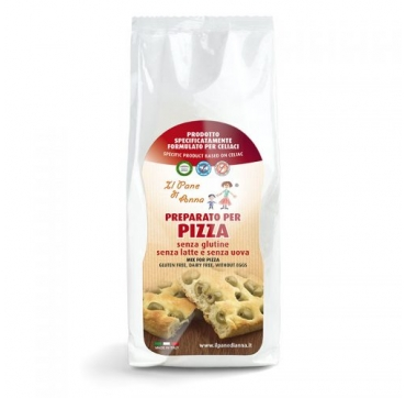 bezglutenska mješavina za pizzu 500 grama