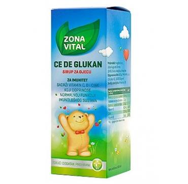 ZONA VITAL CE DE BETA GLUKAN SIRUP 150 ml