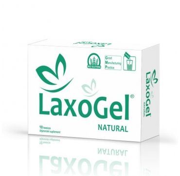 LAXOGEL NATUREL VREĆICE 10 KOM