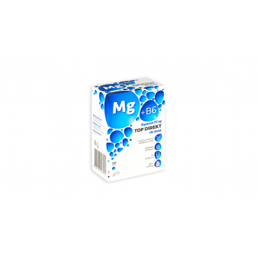 MAGNESIUM 375 MG TOP DIREKT +B6 A 20 VREĆICA