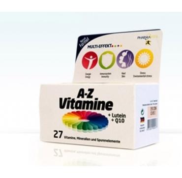 PHARMAVITAL A-Z VITAMINI +LUTEIN +Q10 A60
