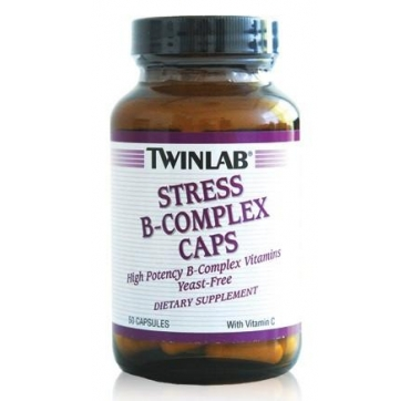 TWINLAB STRES B COMPLEX KAPSULE 50 KOM