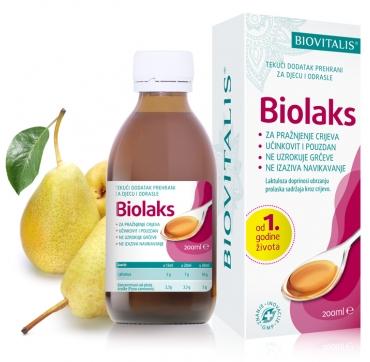 BIOVITALIS BIOLAKS 200 ML