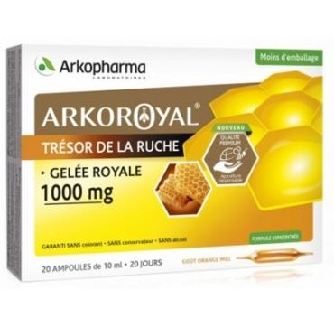 ARKOPHARMA GELE ROYAL AMPULE 20X1000 MG