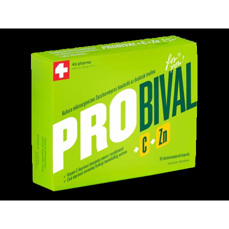 PROBIVAL C + CINK 10 KAPSULA