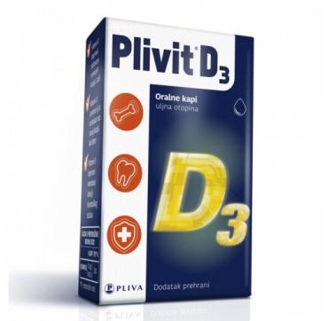 PLIVIT D3 KAPI 5 ML/150KAPI