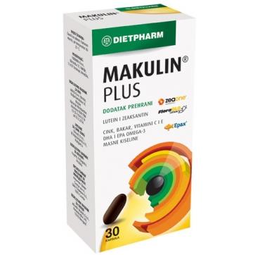 MAKULIN PLUS KAPSULE 30 KOM DIETPHARM