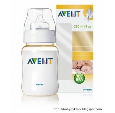 AVENT BOCA 260 ML BPA-FREE