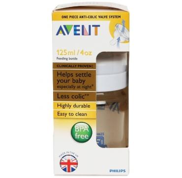 AVENT BOCA PVC A 125 ML BPA-FREE
