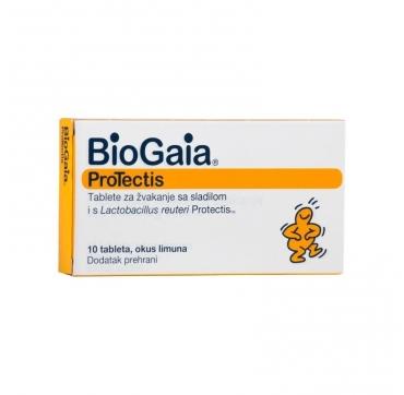 BIOGAIA PROTECTIS TABLETE 10 KOMADA