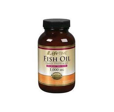 LIFE TIME OMEGA 3 FISH OIL  1000 MG