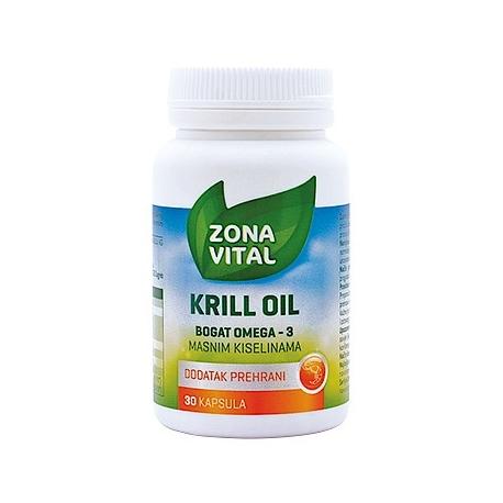ZONA VITAL KRILL OIL 30 KAPSULA