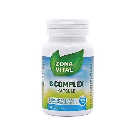 ZONA VITAL B COMPLEX 30 KAPSULA