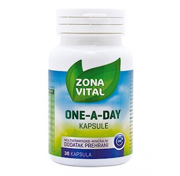 ZONA VITAL ONE A DAY MULTIVITAMIN 30 KAPSULA