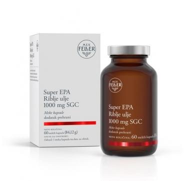 M.E.V FELLER SUPER EPA RIBLJE ULJE 1000MG SGC