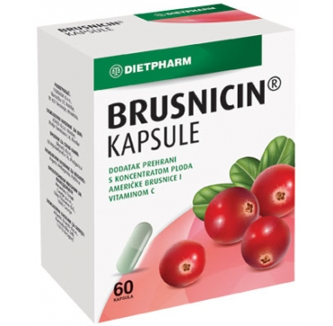 BRUSNICIN KAPSULE 60 KOM DIETPHARM