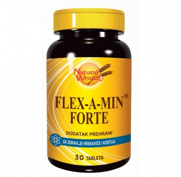 NATURAL WEALTH FLEX-A-MIN FORTE 30 TABLETA