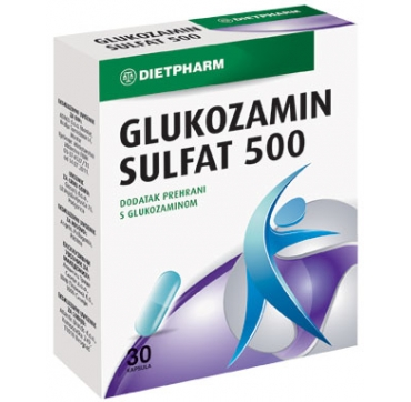 GLUKOZAMIN SULFAT 500 KAPSULE DIETPHARM